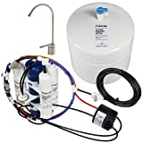Home Master TMAFC-ERP-L Artesian Full Contact with Permeate Pump Loaded Undersink Reverse Osmosis Water Filter System