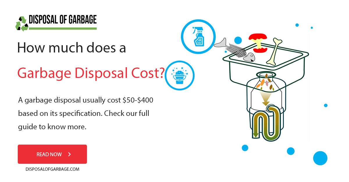how-much-does garbage disposal cost