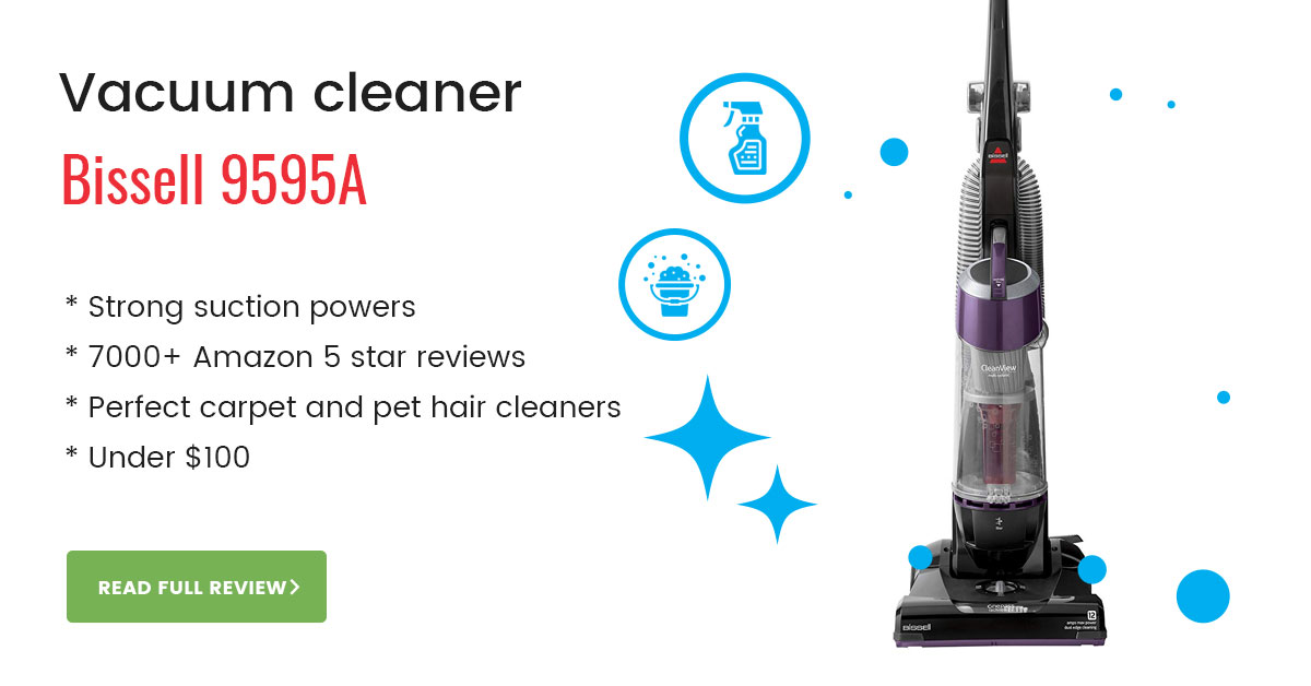 Bissell 9595A vacuum cleaner review