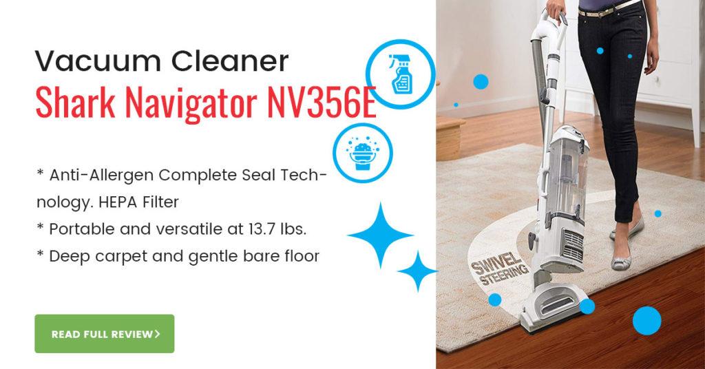 Shark NV356E Vacuum Cleaner Review