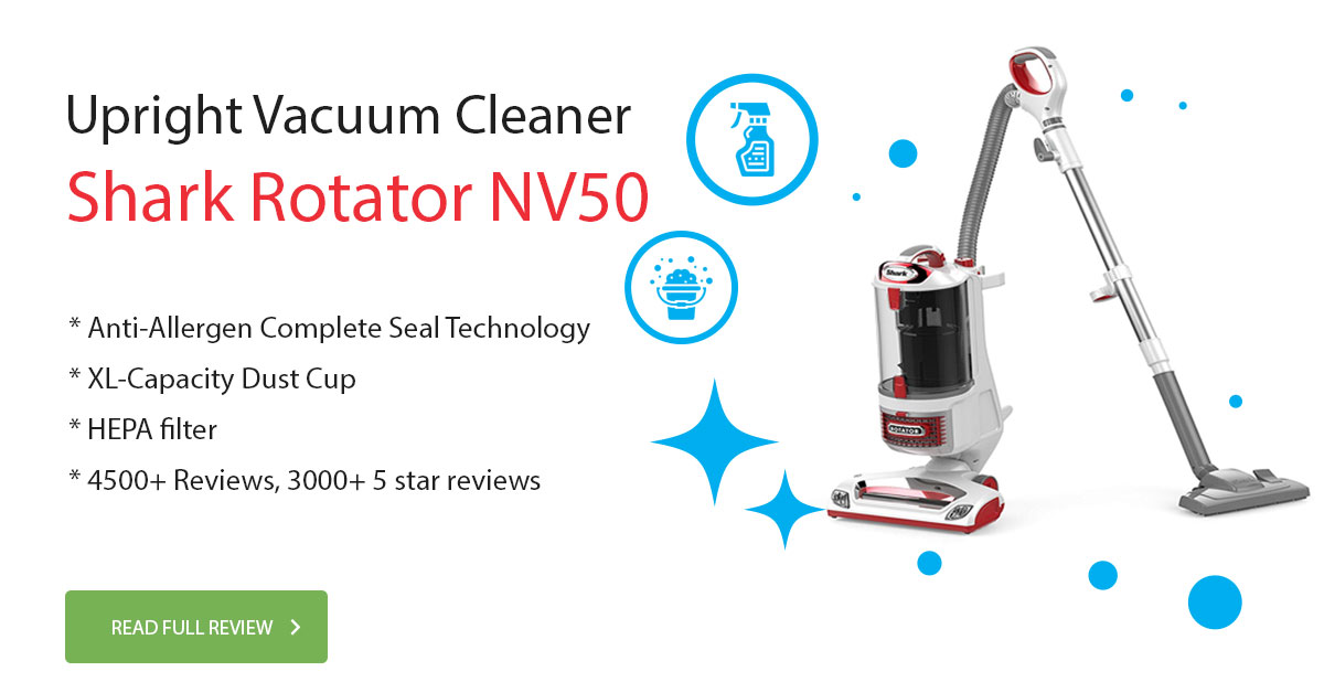 Shark Rotator NV501 Vacuum Cleaner Review