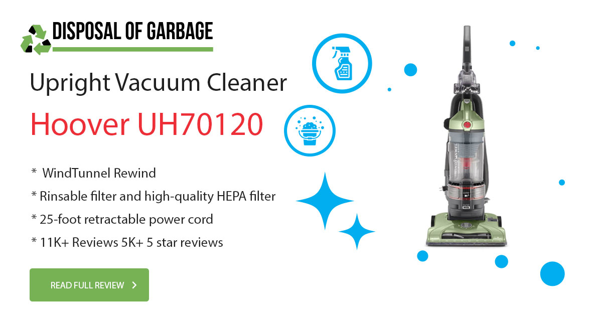 Hoover UH70120 Upright Vacuum Cleaner Review