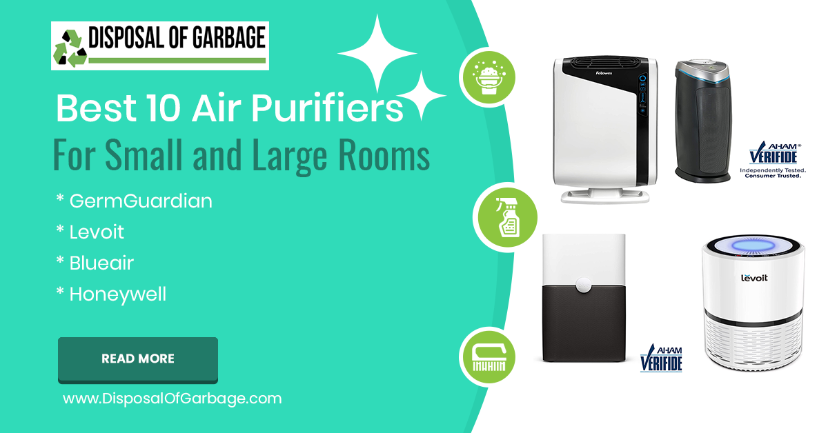 10 Best Air Purifiers For Large and Small Rooms With HEPA filter 2020