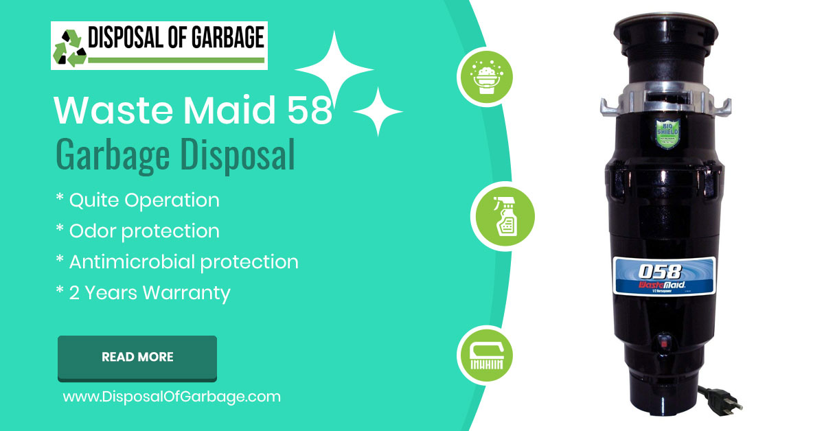 Waste Maid 58 Economy 1/2 HP Garbage Disposal [Review & Comparison]