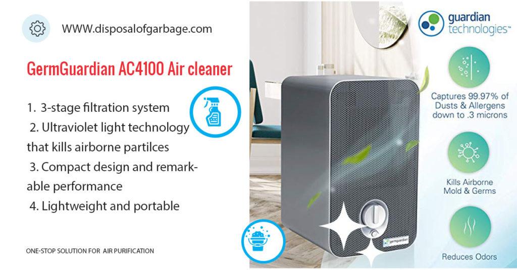GermGuardian AC4100 Air purifier review
