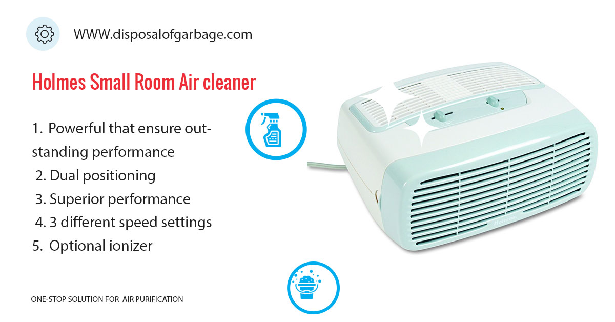 Holmes Small Room 3-Speed Air Purifier Review