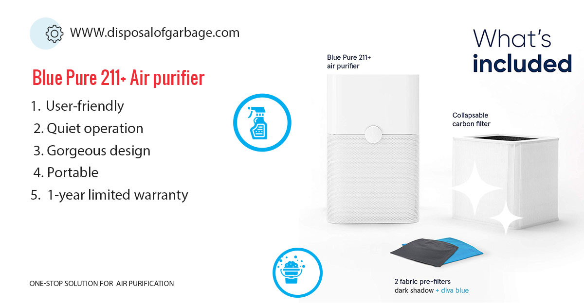Blue Pure 211+ Air Purifier Review