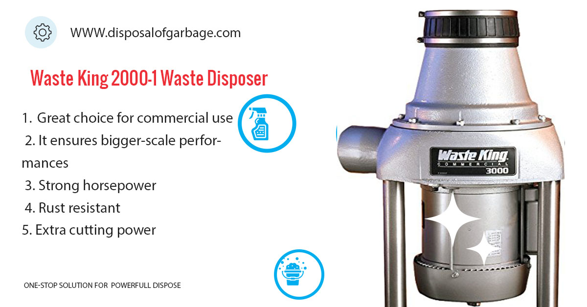 Waste King 2000-1 Commercial Food Waste Disposer Review