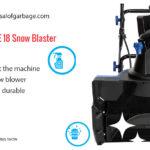Snow Joe SJ618E 18 review