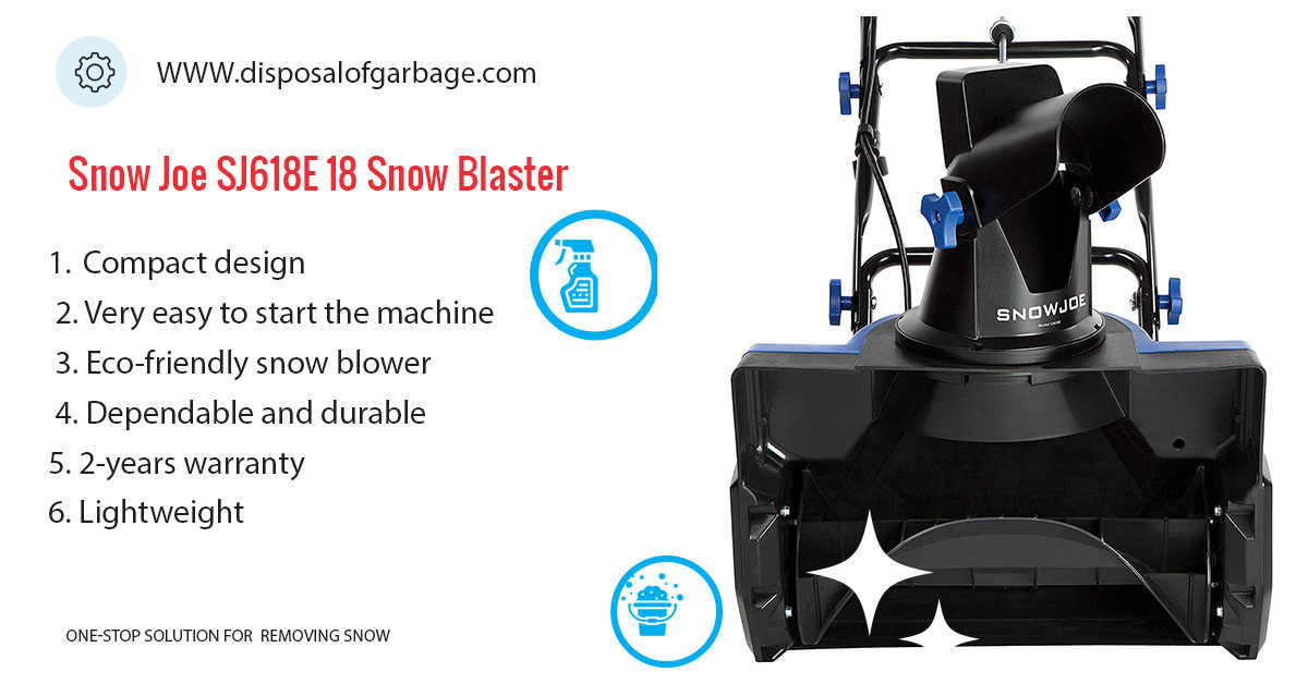 Snow Joe Ultra SJ623E  Electric Snow Thrower Review