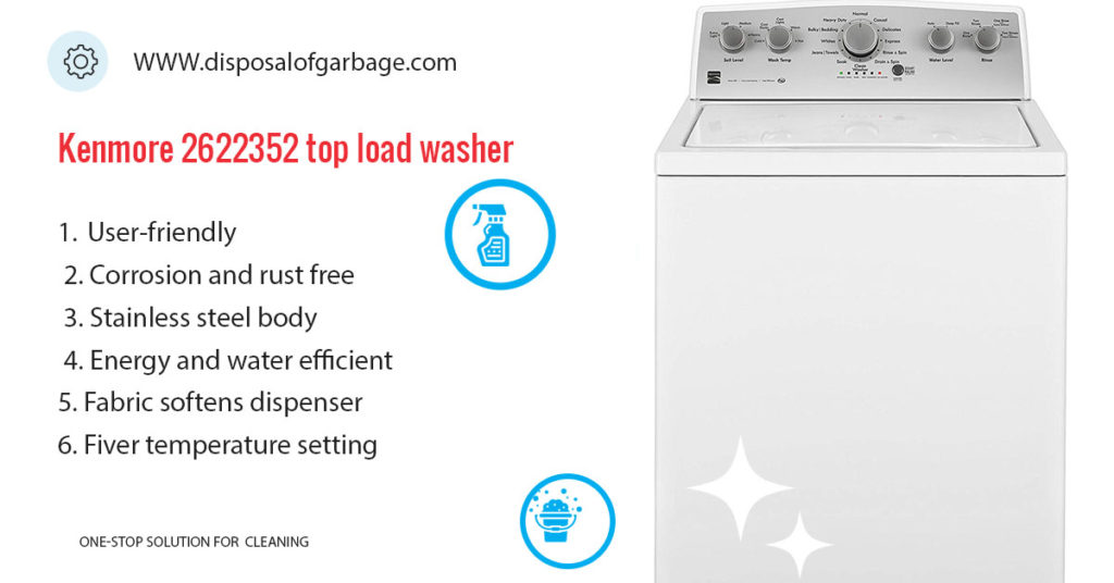 Kenmore 22352 top load washer review