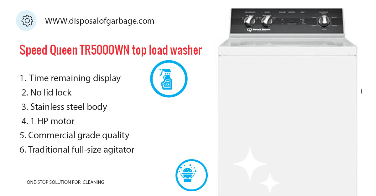 Speed Queen TR5000WN Review – Budget Large Capacity Washer