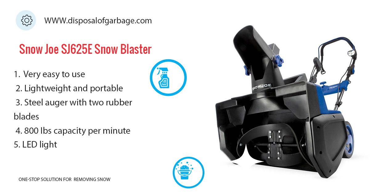 Snow Joe Ultra SJ625E Electric Snow Thrower Review