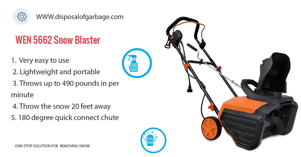 WEN 5662 Electric Snow Blaster Review