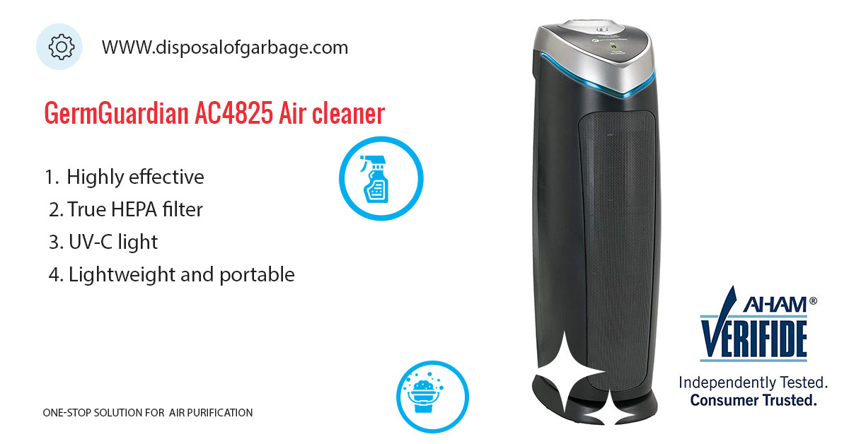 GermGuardian AC4825 Review | 3-in-1 Air Purifier