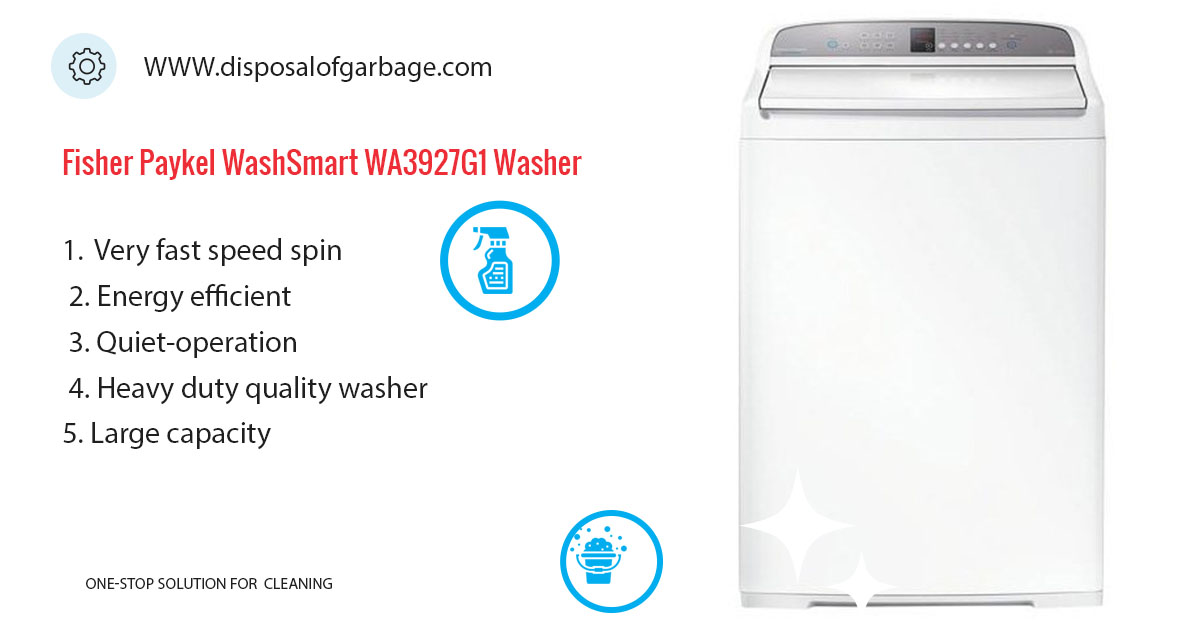 Fisher & Paykel WashSmart WA3927G1 Washer Review