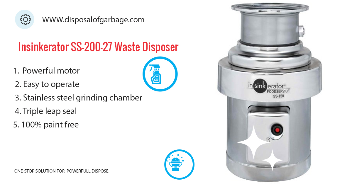 Insinkerator SS-200-27 Commercial Waste Disposer Review