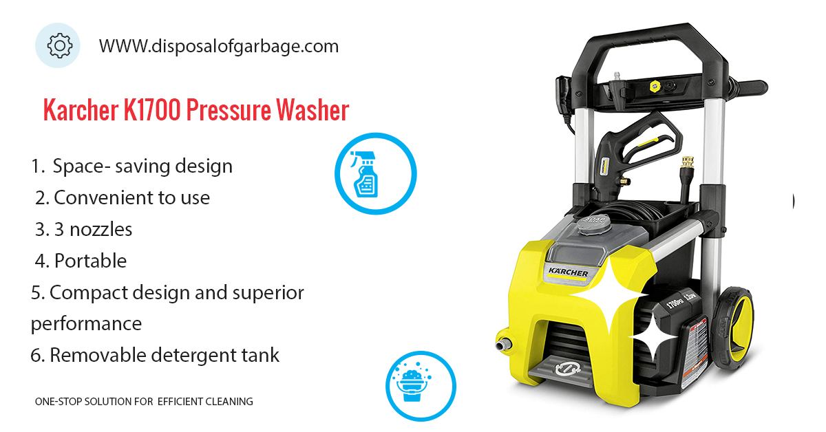Karcher K1700 Pressure Washer Review