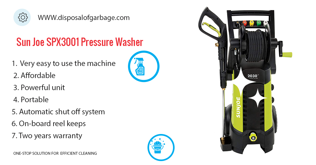 Sun Joe SPX3001 Electric Pressure Washer Review