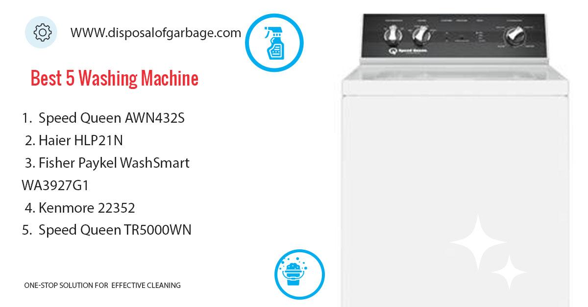 🥇 Best Washing Machine - Top Load Washer Reviews 2019