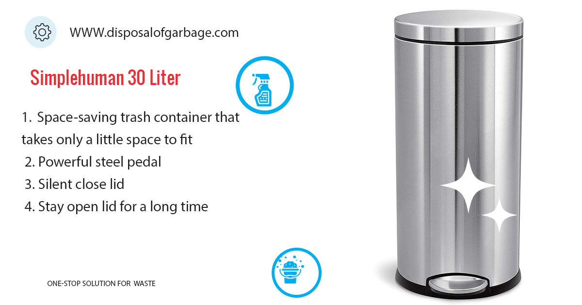 Simplehuman 30 Liter / 8 Gallon Trash Can Review