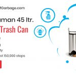 simplehuman 45 butterfly trash can review