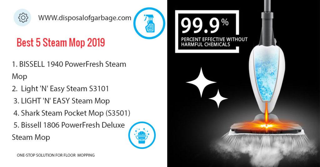 best 5 steam mop