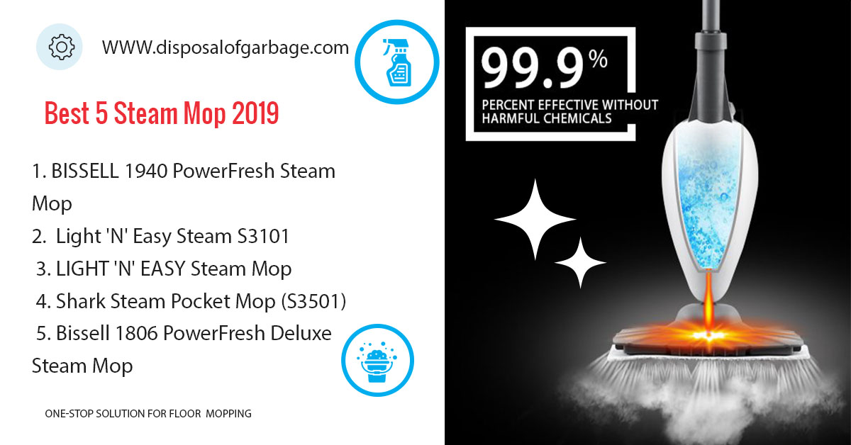 Best 5 Steam Mops in 2020 – Review, Comparison & Buying Guide